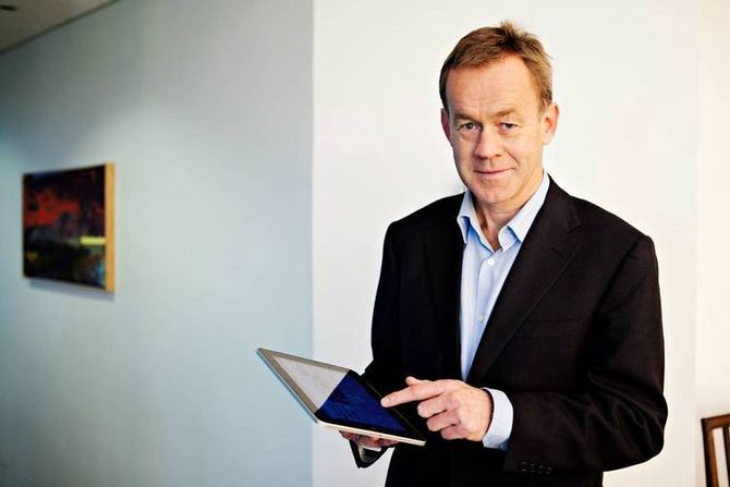 TAR ANSVAR? Amund Djuve, sjefredaktør og direktør i Dagens Næringsliv. (Foto: DN)