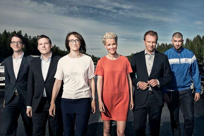 NRKs valgkamp-team denne høsten. (Foto: NRK)