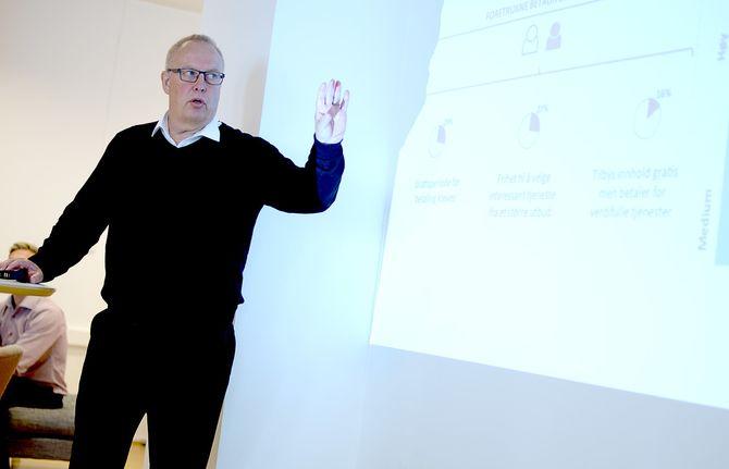 ALF LANDE, konsulent og partner i New Media Network.