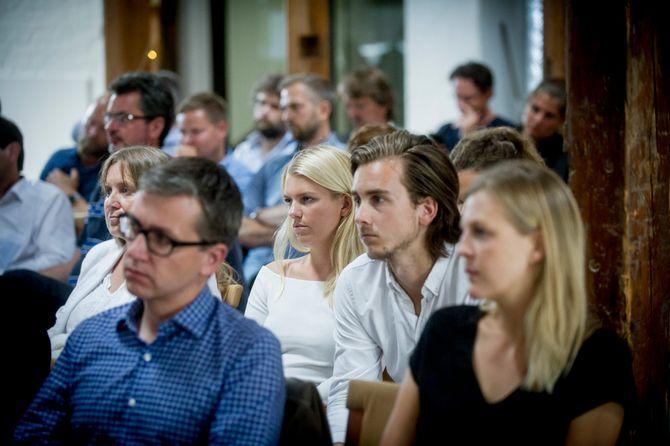 Konferansedeltakere på Oslo Media Meeting. (ALLE FOTO: Gorm K. Gaare)