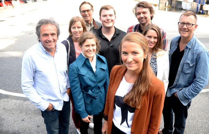 Lokallagslederen og noen av klubblederne som møtes i helga - sammen med rundt 100 andre journalister og redaktører.