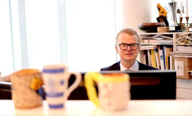 LARS HELLE tror på en framtid for Aftenbladet. Men «det blir en helt annen business».