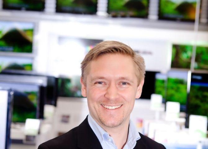 Elkjøp-direktør Andreas Westgaard.