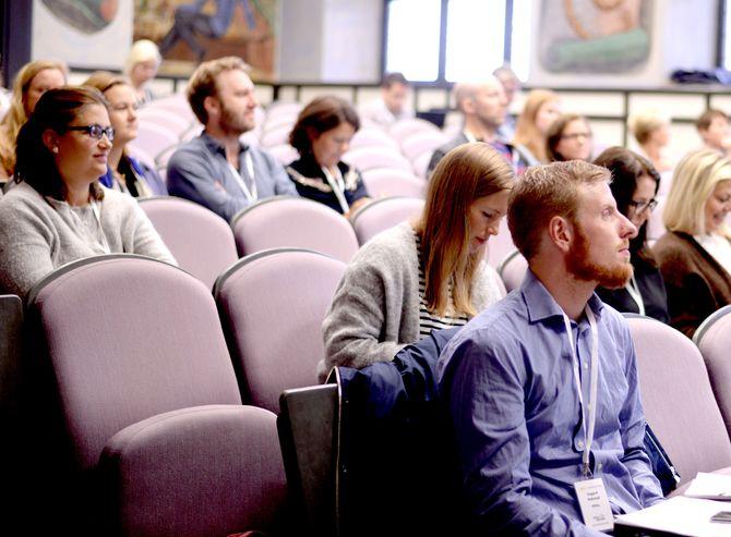 MBLs UNG-konferanse på Kongshavn videregående skole.