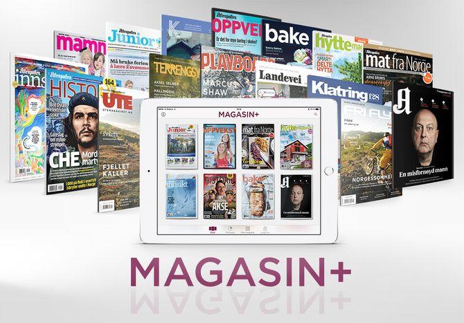 Slik presenterer Aftenposten MAGASIN+.
