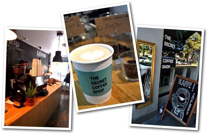 Bilder fra «The Secret Coffee Shop». (Foto: We Are Live)