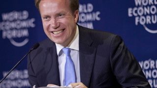 BØRGE BRENDE, her på World Economic Forum for noen år siden.
