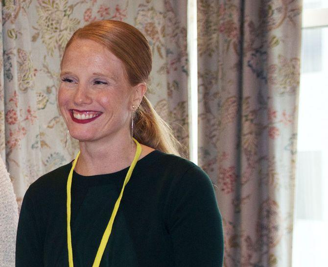 Redaktør i Kvinneguiden, Susanne Kaluza (34) Årets kvinnelige medieledertalent.