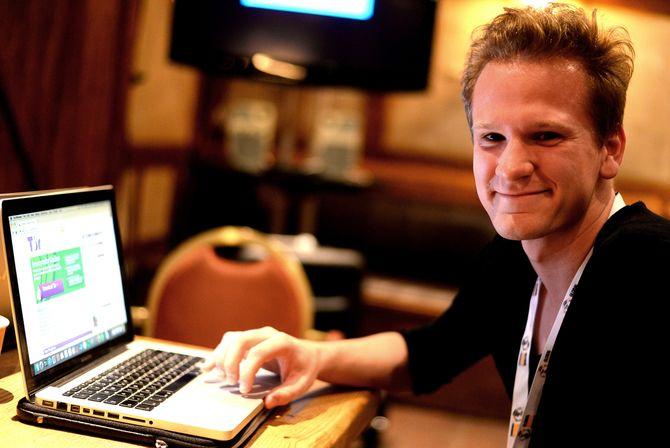 LENNART BEDFORD-STROHM, en tysk journaliststudent som nå kan surfe anonymt.