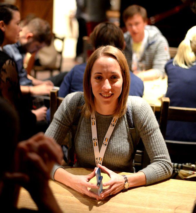 RUNA SANDVIK, digital sikkerhetsekspert og kursholder.