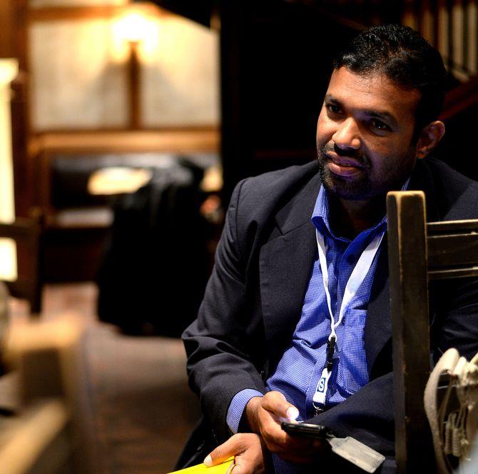 SHIHAR ANEEZ, Reuters mann i Sri Lanka.