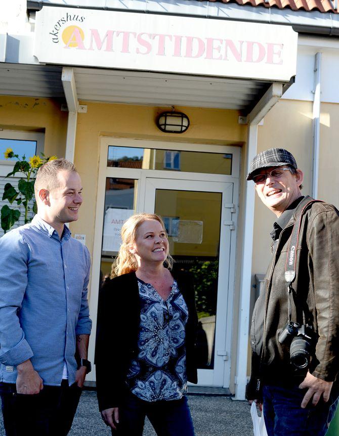 Journalist Pål Brikt Olsen på vei ut på oppdrag.