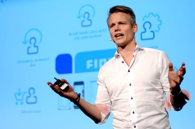 SONDRE GRAVIR, administrerende direktør i Finn.no. (Arkivfoto: Gard L. Michalsen)
