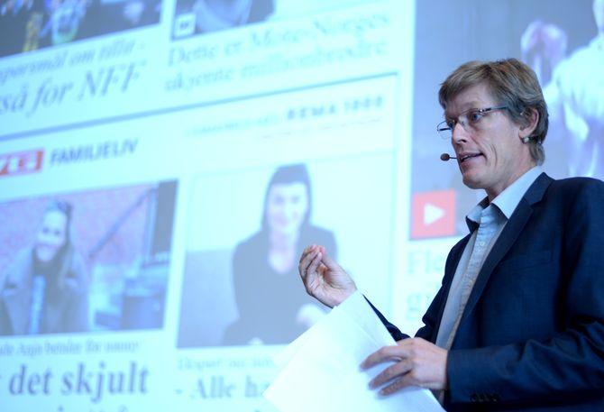 JENS BARLAND, førsteamanuensis i medier og ledelse ved Høgskolen i Gjøvik.