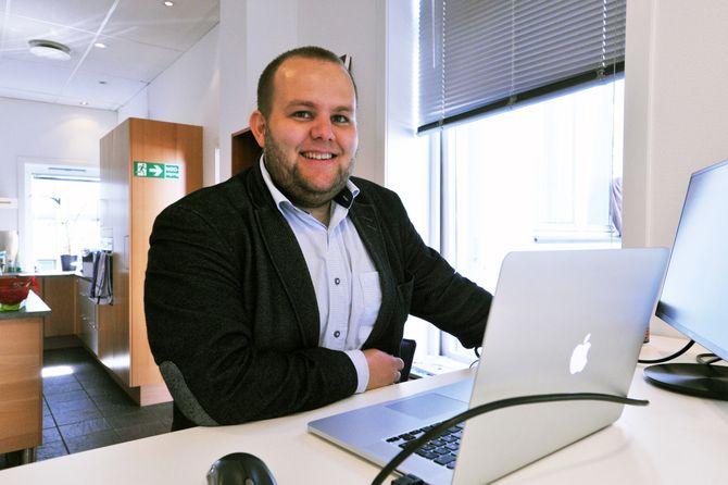 Gard L. Michalsen, redaktør og gründer av Medier24.com. (Arkivfoto: Erik Brenli, Sagat)