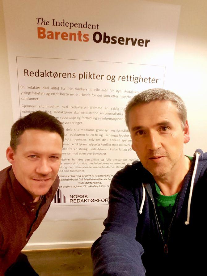 STOR REDAKTØRPLAKAT: Og nå får The Independent Barents Observer en større bevilgning fra Fritt ord.