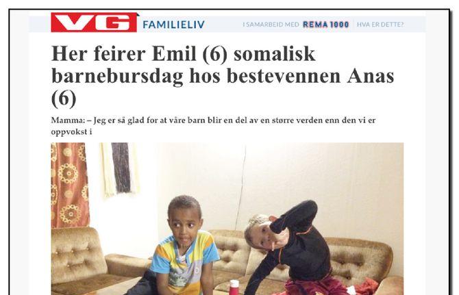 (Faksimile fra VG Familieliv).