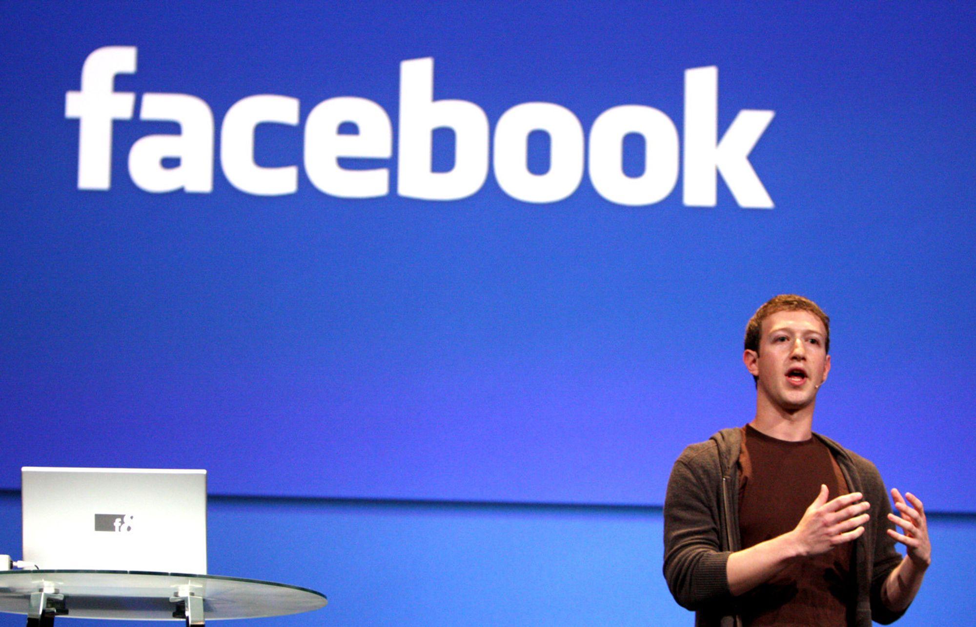 Facebook-sjef Mark Zuckerberg.