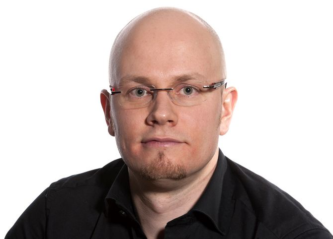 Alexander Jansen, redaktør og medgründer av Drammen Live24.