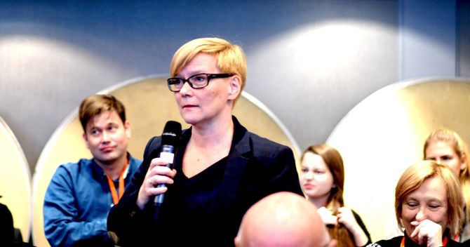 MONA SOLBAKK - fersk direktør i NRK Sápmi.