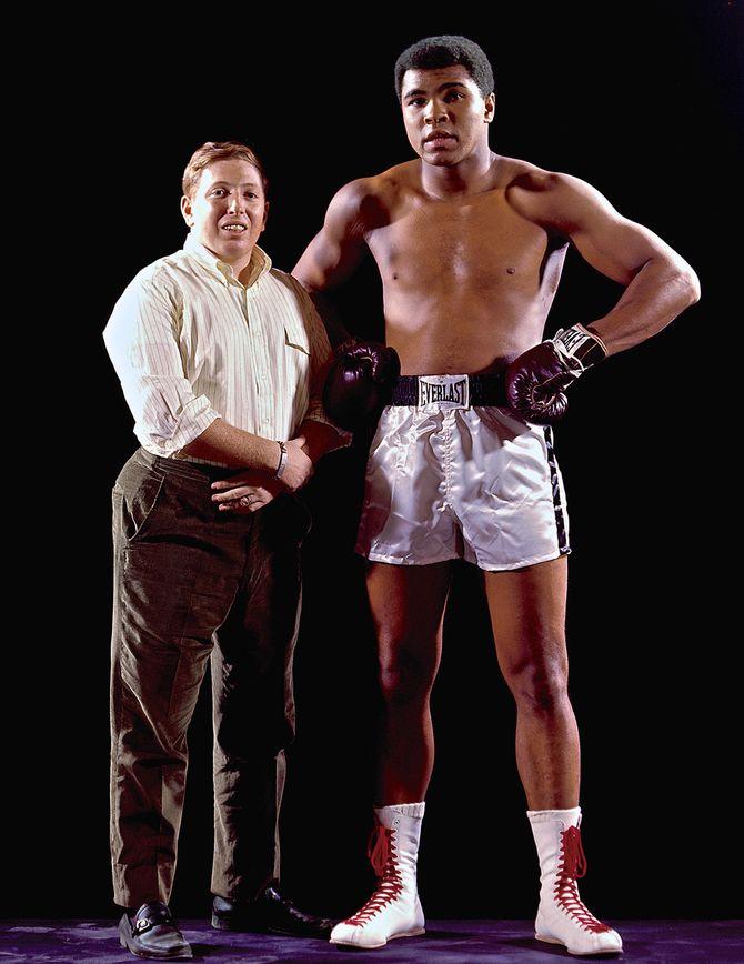 Neil Leifer og Mohammed Ali.