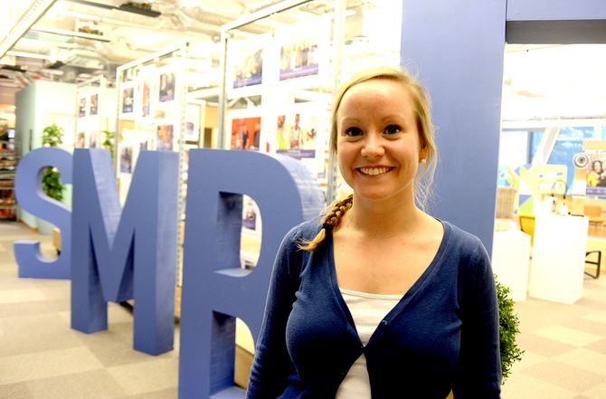 HILDE HAMMER, account mannager for SMB sales ved Facebook International Headquarters i Dublin. (Arkivfoto: Gard L. Michalsen)