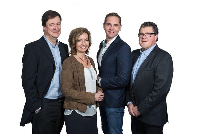 PROGRAMLEDERE: John Christian Elden, Hanne Kristin Rohde, Jens Christian Nørve og Asbjørn Hansen.
