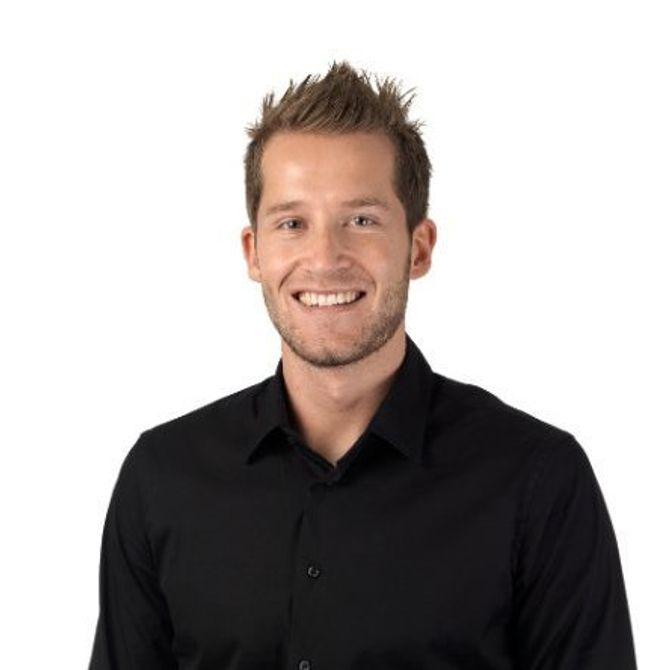 Stian Johansen, salgssjef digitalt.