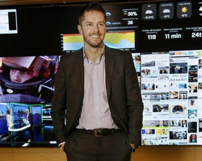 TOR JACOBSEN blir kommersiell direktør i Schibsted-avisenes nye overbygning.