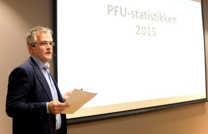 ALF BJARNE JOHNSEN, leder i Pressens Faglige Utvalg (og journalist i VG). (Foto: Gard L. Michalsen)