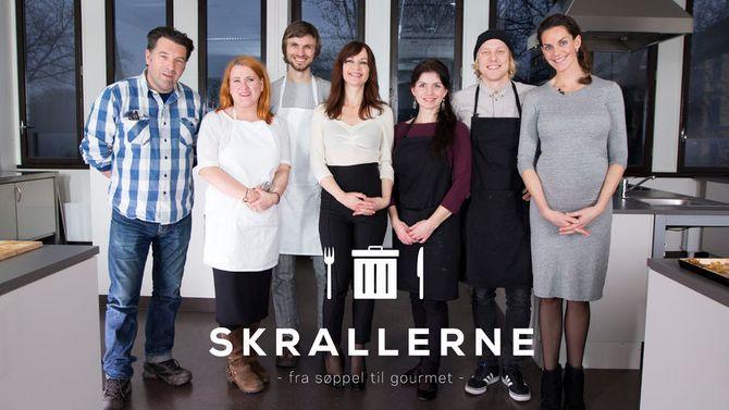 «Skrallerne» - et av Matkanalens programmer; i dette tilfellet opprinnelig fra Aftenposten, laget av Anti.