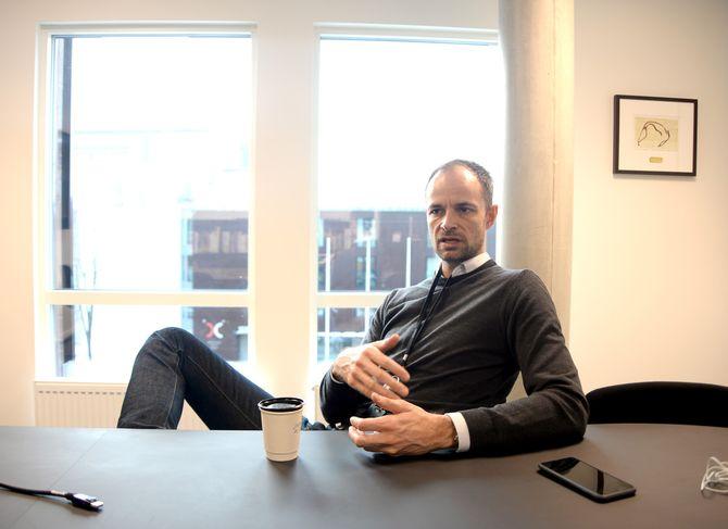 Adressa-redaktør Tor Olav Mørseth.