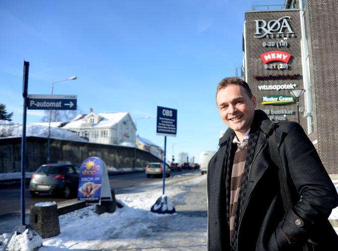 I SENTRUM: Røa er et av de lokale bydelssentrene som nå får sin egen lokalavis igjen.