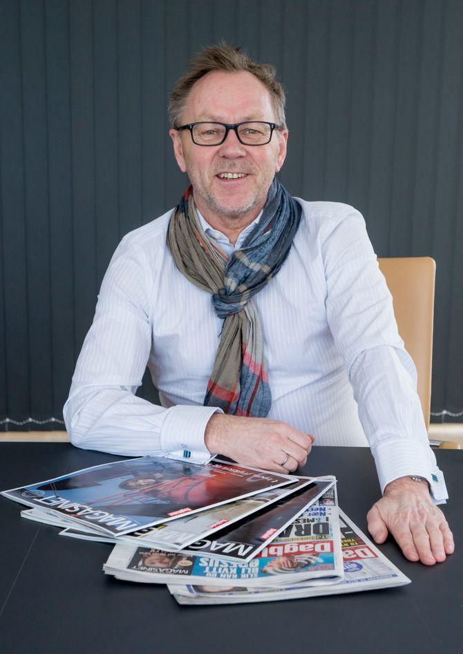 JOHN ARNE MARKUSSEN, sjefredaktør og direktør i Dagbladet.