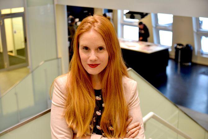 KLAR TALE: Susanne Kaluza vil ikke ha andre spørsmål enn mannlige ledere. (Foto: Sunniva Bornøy)