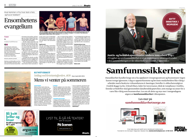 SKRYTEFILMEN: I fjor fikk Anders Anundsen kritikk for informasjonsfilmen han lagde for regjeringens politikk.