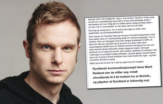 NRKs Facebook-side onsdag formiddag.