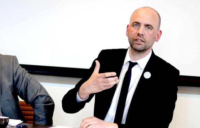 ARILD GRANDE, Aps mediepolitiske talsmann. (Arkivfoto: Gard L. Michalsen)
