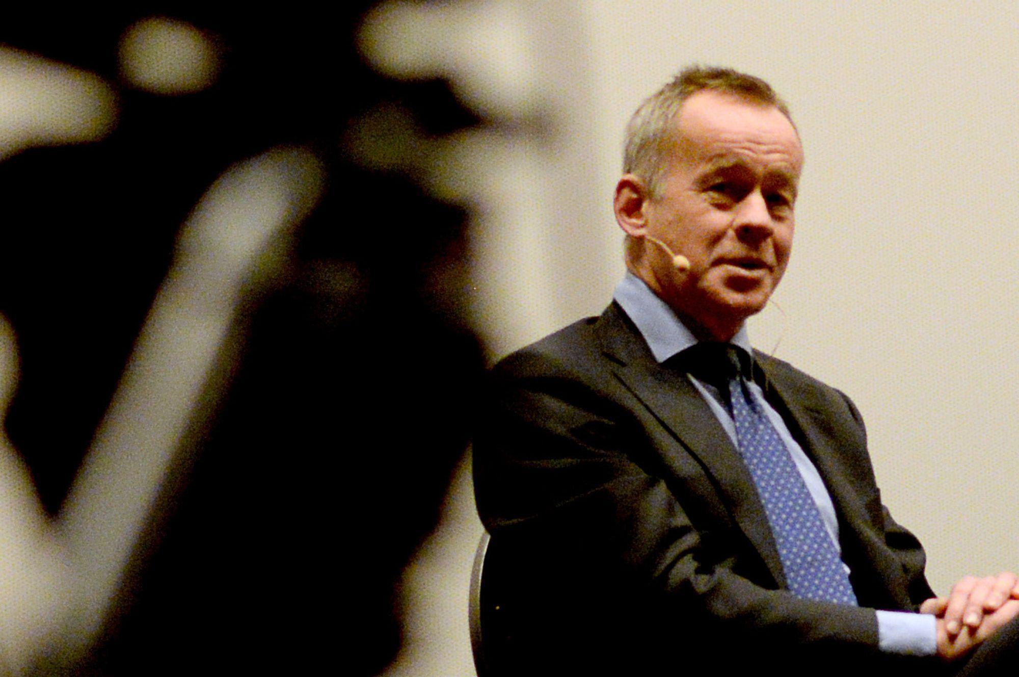 Amund Djuve, sjefredaktær og direktør i Dagens Næringsliv.