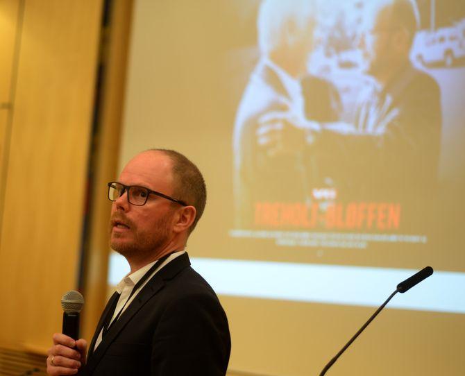 VGs nyhetsredaktør Gard Steiro mener sponsorater kan sikre medienes inntekter - og på andre siden muligheten til å drive avslørende journalistikk, som avsløringen av «Treholt-bløffen».