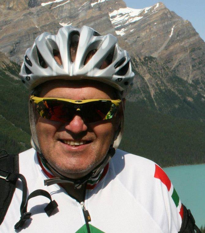 JØRN MICHALSEN, syklist, sykkelklubbleder og forfatter av dette innlegget.
