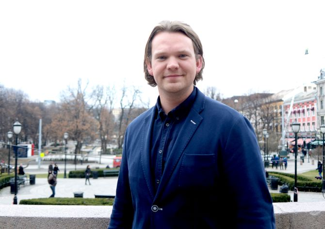 FABIAN FELLKJÆR, digital rådgiver for Høyre.