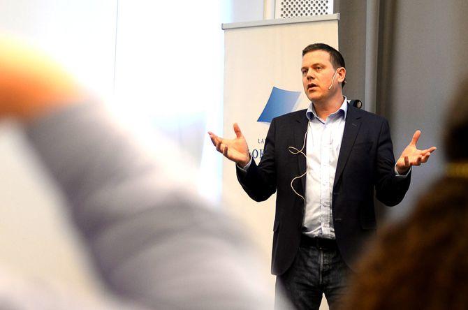 FRED GJESTAD, redaktør og daglig leder i Raumnes. (Arkivfoto: Gard L. Michalsen)