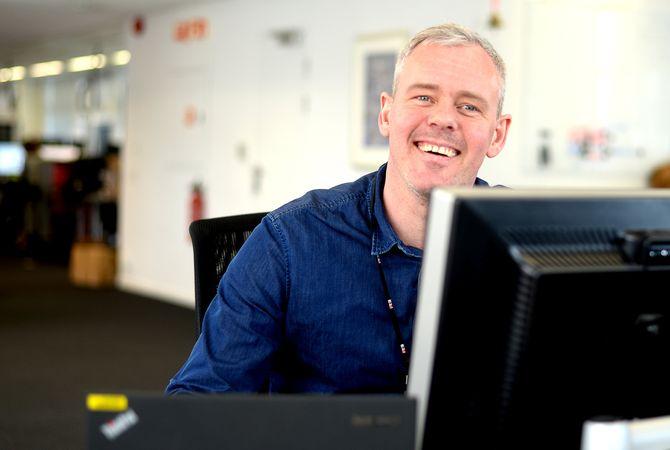 PER VALEBROKK, ansvarlig redaktør og direktør for E24 Dine Penger.