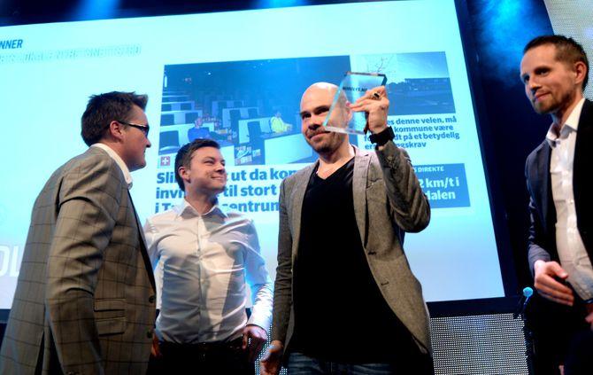 Nordlys vant prisen for «Årets lokale nyhetsnettsted».