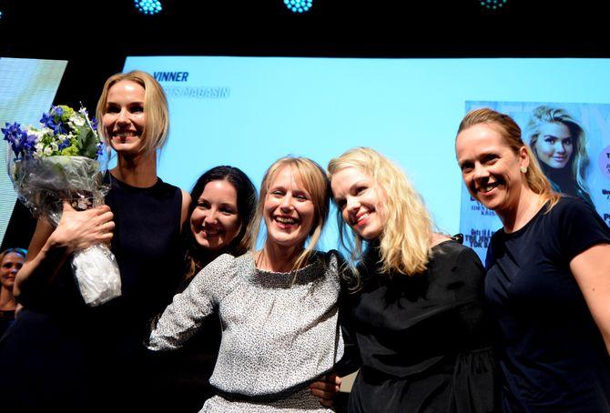 KK fikk prisen «Årets magasin» onsdag kveld. (Foto: Gard L. Michalsen)