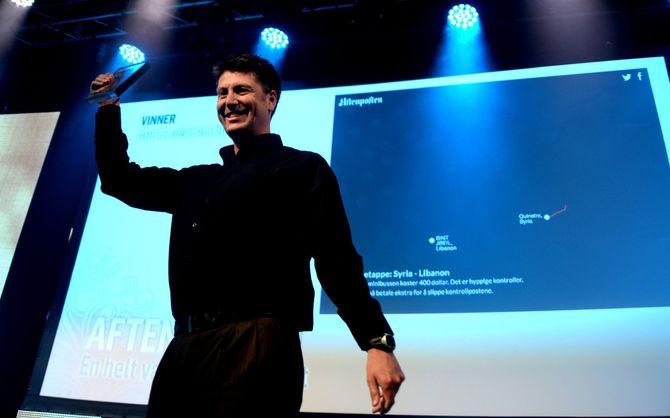 mediepriser aftenposten digitalhistorie