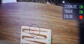Kameraet kan spore enkeltobjekter som er i rask bevegelse, og holde dem o konstant fokus selv ved kraftig risting.