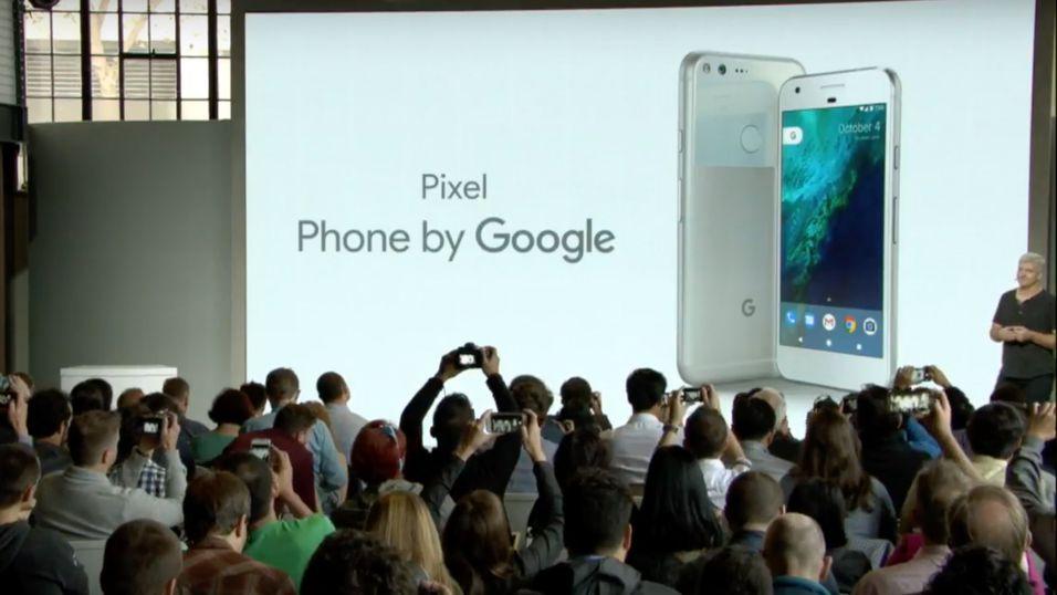 Google har lansert Pixel –nye mobiltelefoner som går rett i strupen på Apples iPhone.
