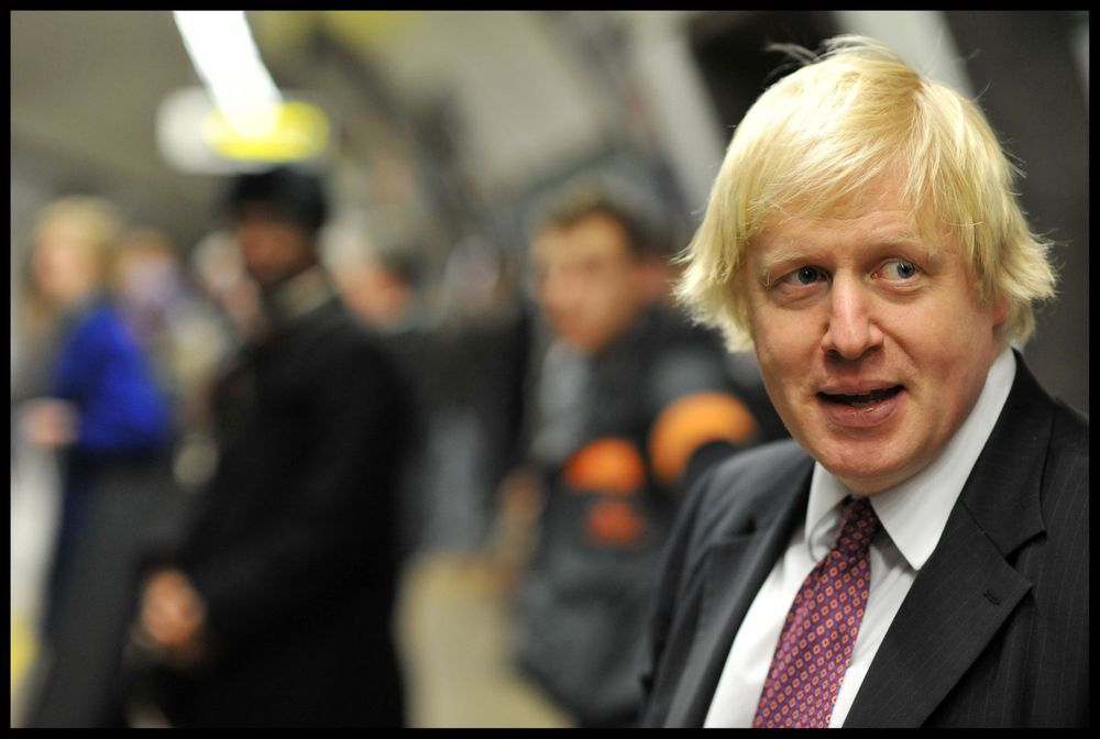 Tidligere borgermester i London, Boris Johnson.